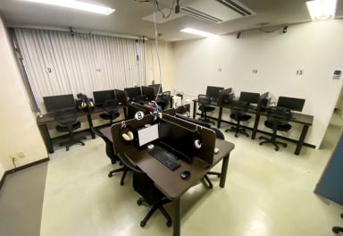 アルテック情報システム 試験センター用特注机